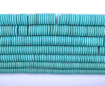 20pcs Turquoise Gemstone Heishi Spacer Beads 8MM 10MM 12MM 14MM 16MM 18MM 20MM