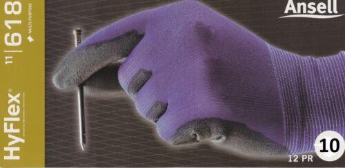 Ansell Handschuh HyFlex 11-618 Gr.10 Neu in OVP 12 Paar