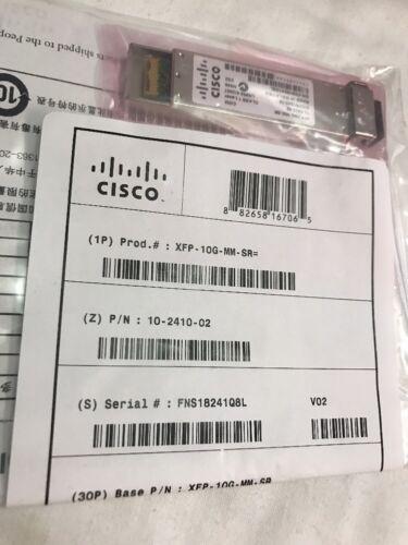 BRAND NEW SEALED Cisco Genuine XFP-10G-MM-SR 10-Gigabit XFP Transceiver