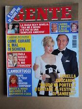 GENTE n°2 1995 Paola Barale Marco Bellavia Lorella Cuccarini [G739]