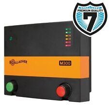 GALLAGHER ELECTRIC FENCING M300 ENERGISER Mains Fence 230v Unit Fencer Unit Plug