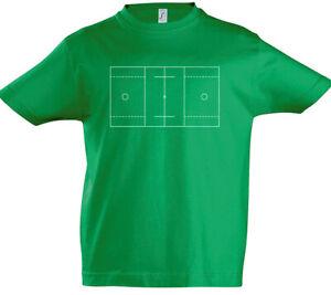 Lacrosse-Field-Kinder-Jungen-T-Shirt-Player-Stick-Ball-Spieler-Feld-Spielfeld