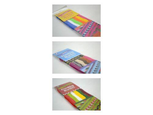 Friendship Bracelet Kits 3 Colour Sets to Choose From