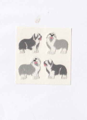 You Choose Vintage Sandylion Fuzzy Dog Puppy Stickers Pet Labrador Retriever