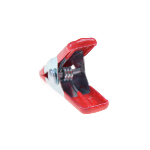"10PCS Metal Spring Clamps 2/"" Clip Soft Plastic Tips Grip Photos Craft UK"