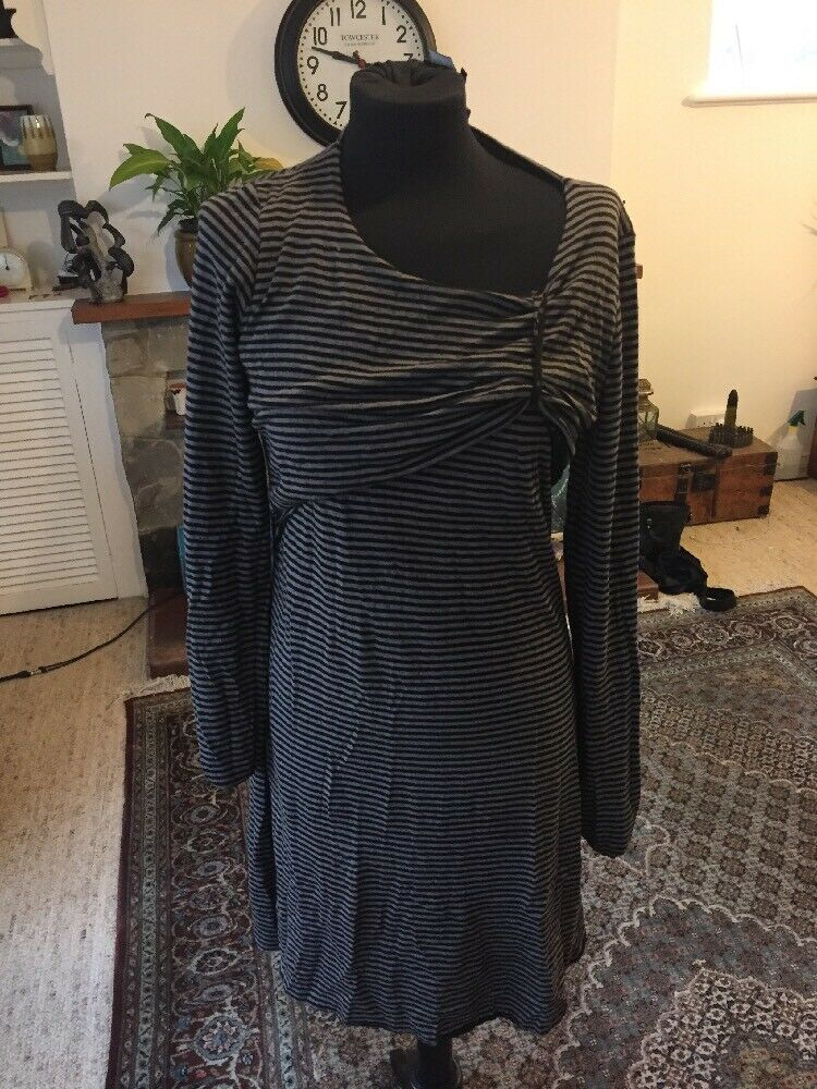 Stripe Lilith Stretch Tunic Dress