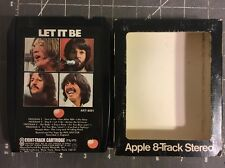 THE BEATLES Let It Be (APPLE ART 8001) 8-Track Clean & Tested VG+