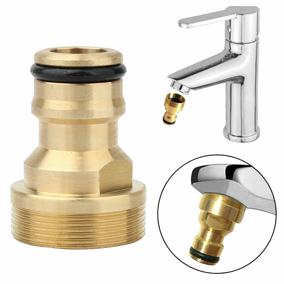 Universal Kitchen Tap Thread Connector Mixer Garden Hose Adaptor Faucet Fitting
