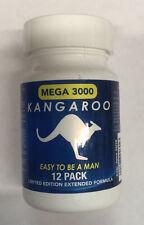 Kangaroo Mega 3000 Bottle for Men Sexual Supplement Enhancement Pills - 12 pills