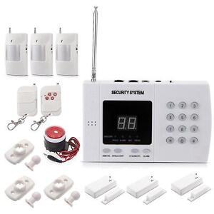 Kit-Alarme-Maison-Sans-Fil-Systeme-Securite-99-Zones-Cles-Sirene-Bien-Vendu