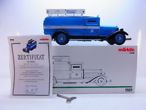 Zielsetzung 53654 Antiquitäten & Kunst Neuwertiger Märklin 1101 Geldtransporter Baukasten-modellauto Blech Ovp Autos & Busse