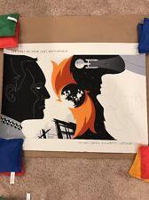 Tom Whalen STAR TREK Poster YOUR LAST BATTLEFIELD Mondo Screen Print Stout Moss