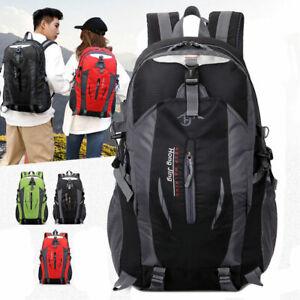 Details zu 40L Rucksack Sport Schulrucksack Freizeit Reise Wandern Wasserdicht Backpack 02