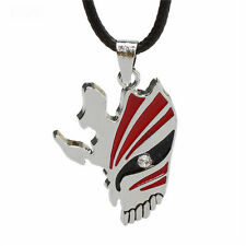 Anime Bleach Skull Rotatable Cross Wing Necklace /& Ring 2pcs//Set