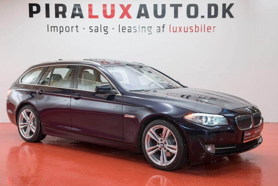 BMW 520d 2,0 Touring aut. Diesel aut. modelår 2013 km 177000