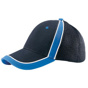 BRUSHED-CANVAS-SPORTS-MESH-CAP-Black-Royal