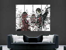 BLACK BUTLER  POSTER KUROSHITSUJI  MANGA TV SERIES ANIME WALL ART  PRINT LARGE