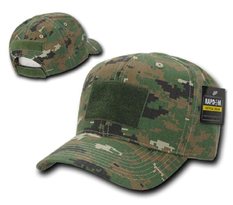 US Táctico Táctico Táctico OPERATOR Gorra MCU Bosque Digital Ejército Usmc Camuflaje Sombrero ca2887
