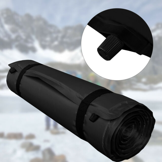 ISO selbstaufblasende Isomatte 3cm dick 200x66 groß rutschfest wasserabweisend