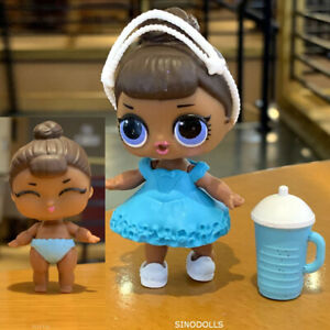 Lot-2-PCS-LOL-Surprise-Doll-MISS-BABY-AND-LIL-MISS-BABY-SISTER-DOLLS-Girl-Gift