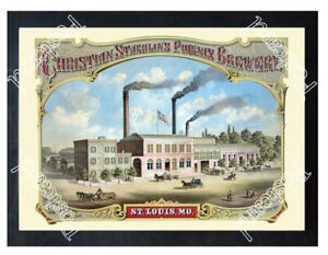 Historic-The-Phoenix-Brewery-St-Louis-1900-Advertising-Postcard