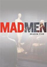 MAD MEN: SEASON 5 DVD - THE COMPLETE FIFTH SEASON [4 DISCS] - NEW UNOPENED