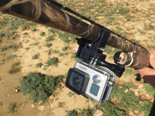 GoPro Picatinny Rail Mount fonctionne avec fusils et carabines trop!