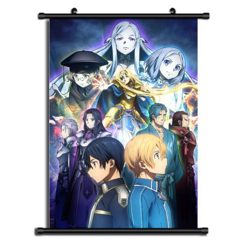 Sword Art Online Alicization Anime Wall Art Home Decoration Scroll Poster