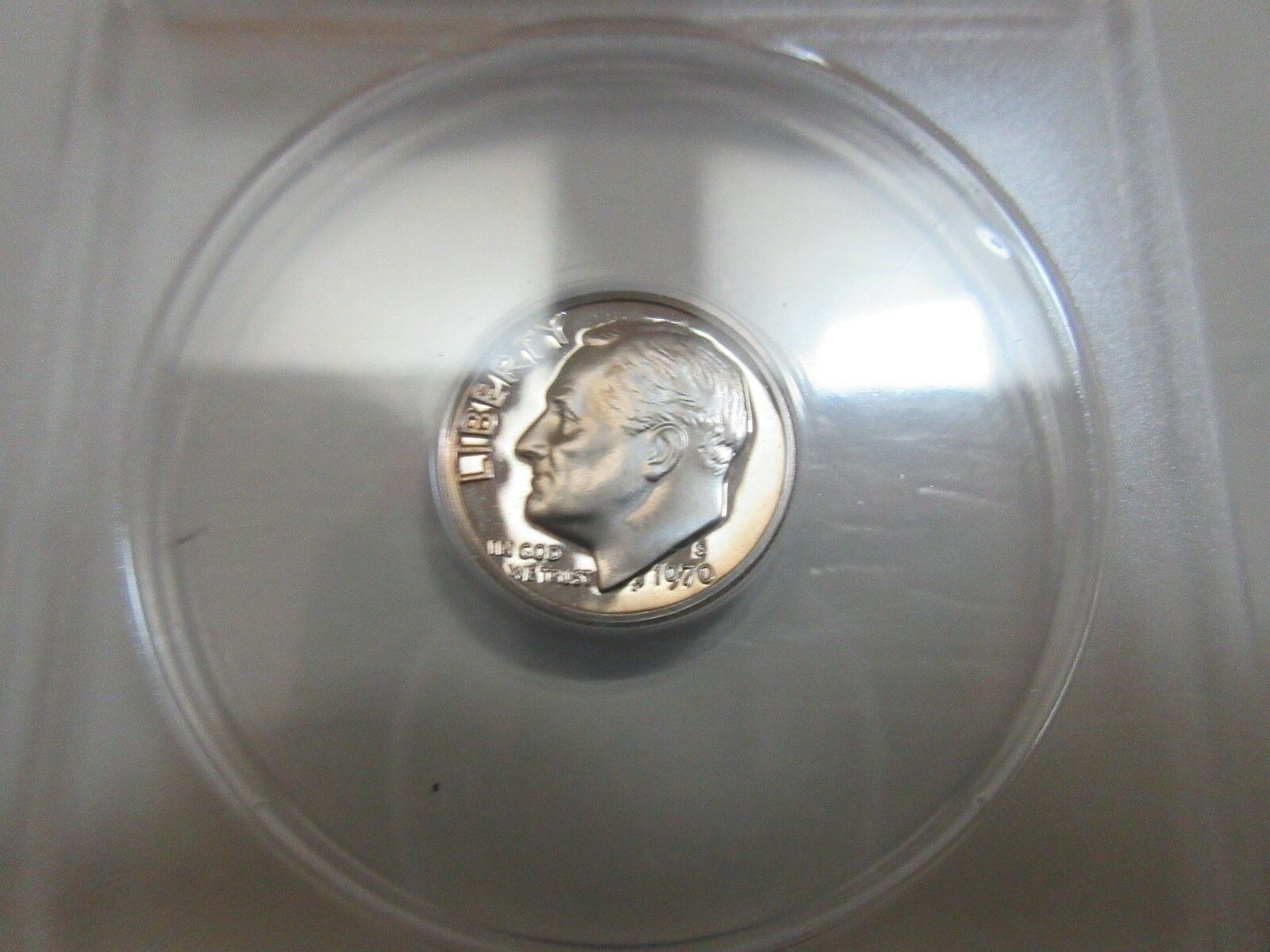1970-S , Roosevelt Dime , ANACS , PROOF 67 DCAM