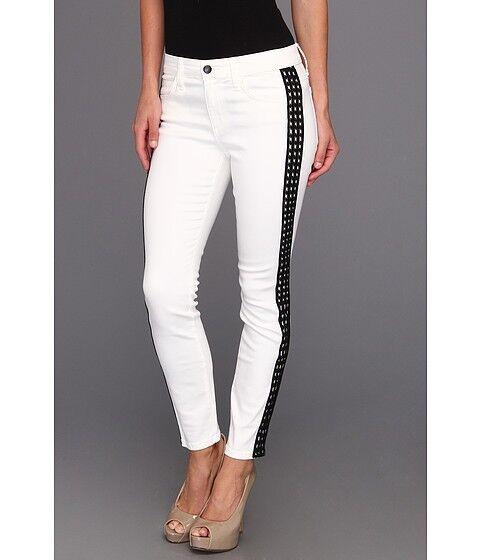 NWT Joe's Jeans Diamond Tux Skinny Ankle White Women's 28 Medium