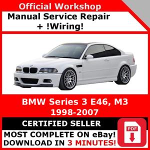 FACTORY-WORKSHOP-SERVICE-REPAIR-MANUAL-BMW-SERIES-3-E46-1998-2007