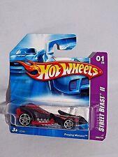Hot Wheels 2007 Street Beast II Series #065 Preying Mantis Red & Black w/ PR5s