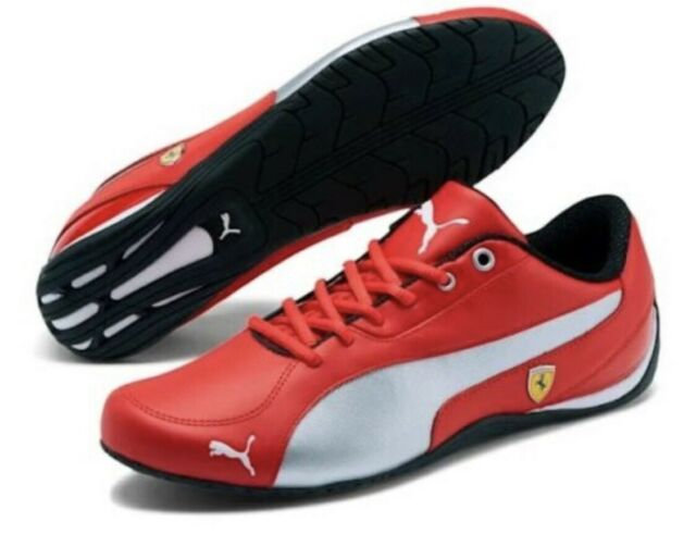 Puma Scuderia Ferrari Drift Cat 5 NM Shoes 306471-01 Rosso Corsa Men's Size 12