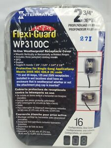Intermatic-WP3100C-Flexi-Guard-Plastic-In-Use-Weatherproof-Receptacle-Cover-New