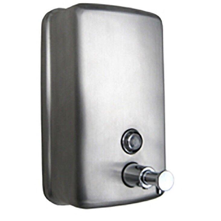 Metlam ELLIPSE SOAP DISPENSER 1.2L Grünical, Satin Stainless Steel Aust Brand