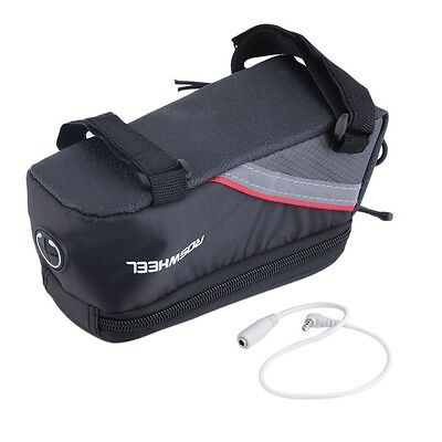 Bike Front Top Frame Pannier Tube Bag Case Pouch for Cell Phone SM