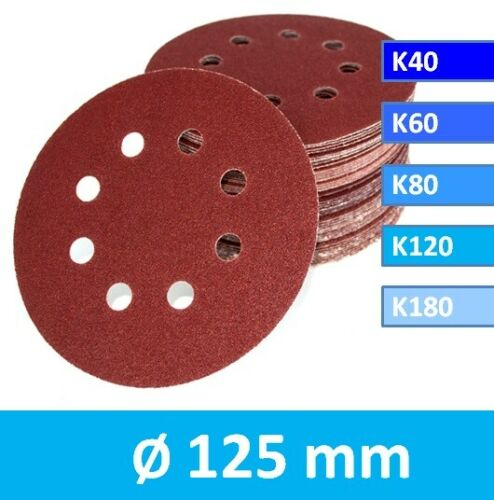 Klett Schleifscheiben 125 mm A86 für BLACK+DECKER KA191EK Exzenter Schleifpapier