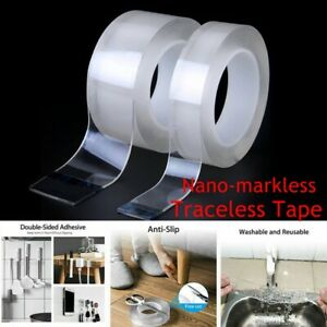 Magic-Double-Sided-Grip-Tape-Traceless-Washable-Adhesive-Gel-Nano-Invisible-Tape