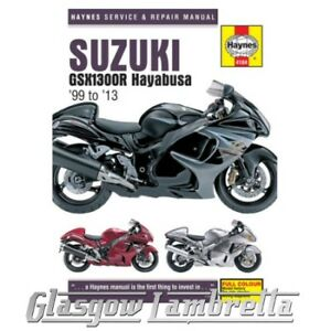 haynes service manual 4184 suzuki gsx1300r hayabusa 1999 2013 rh ebay co uk Hayabusa 1300 2013 hayabusa owners manual
