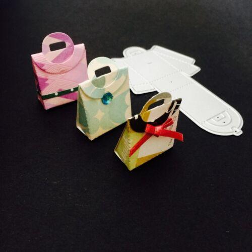 Box Cutting Dies Stencil Scrapbooking Album Paper Cards DIY Craft Embossing