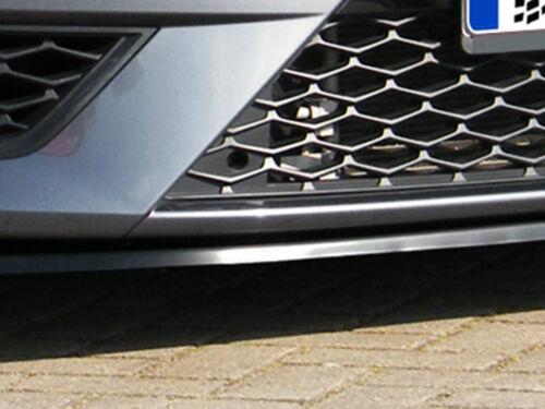 Action spéciale spoiler épée Front Becquet Lèvre ABS pour Seat Leon 3 5 F SC FR ABE