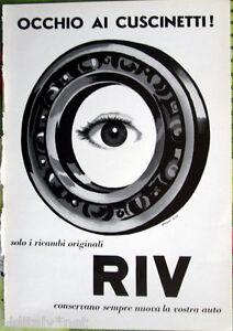 1958-Adv-Advertising-Eye-Ai-Bearings-Polyest-Design-Armando-Head