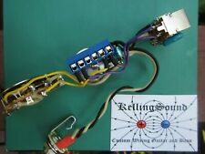 Les Paul /'50s Style Bourns PDB241 Long Shaft Upgraded Pre-Wired Harness Kit