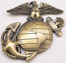 USMC Challenge Coin HMX-1 Marine Helicopter Squad One Globe & Anchor Excellence