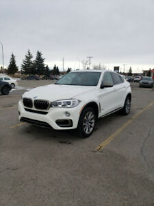2015 BMW X6 FOR SALE ALPINE WHITE WITH RED LEATHER!!!