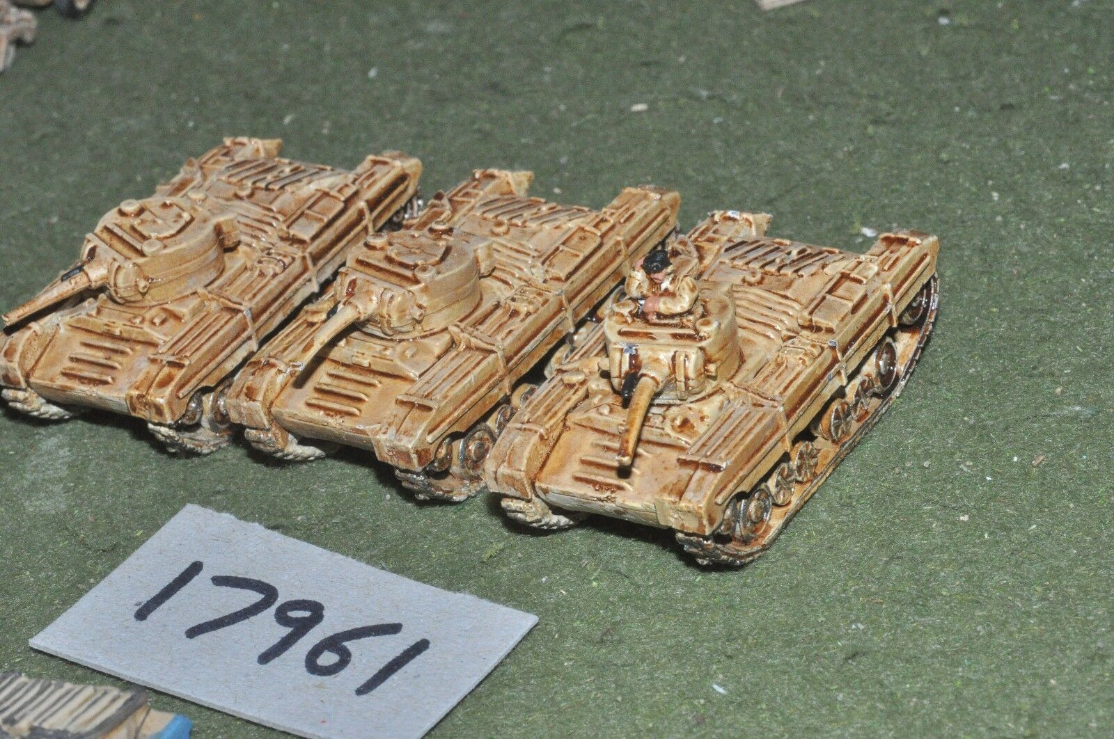 15mm ww2 n. african campaign vehicles (as photo) (17961)