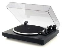 Thorens Td 158 Black Belt-drive Turntable W/ Factory-mounted Cartridge