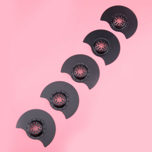 5Pcs 88mm HCS Segment Saw Blade Wood Metal Oscillating Multi Power pour Starlock