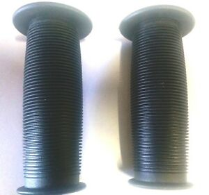 "BMX MUSHROOM GRIPS IN BLACK FOR KIDS 12"" or 14""  BICYCLES, TRICYCLES, SCOOTERS"