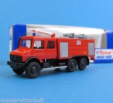Roco H0 1699 MB UNIMOG U 2450 6x6 TLF 28 / 48-5 Feuerwehr Ziegler HO 1:87 OVP